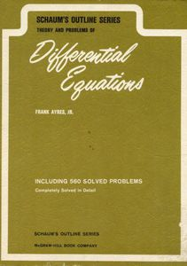 Schaum's Outline of Theory and Problems of Advanced Calculus by Murray R. Spiegel