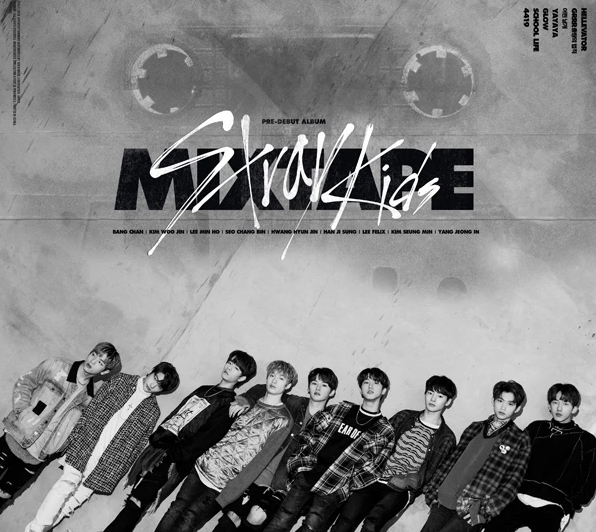 Stray Kids - Debut Album 'Mixtape'