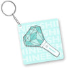 SHINEE - LIGHTSTICK (Shating Star/JAT) KEYCHAIN