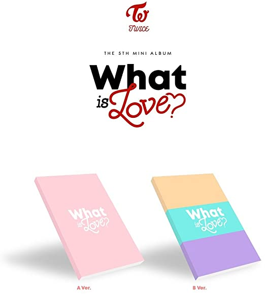 TWICE - Mini Album Vol.5 'WHAT IS LOVE?'