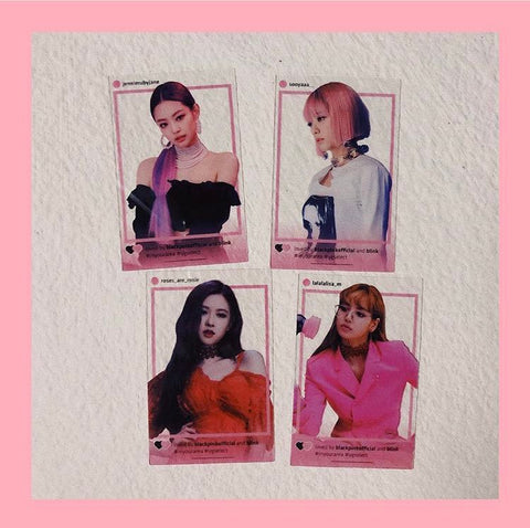 BLACKPINK 「IN YOUR AREA」Seoul Venue Limited Transparent Photocard Set