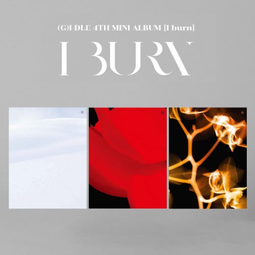 (G)I-DLE - THE 4TH MINI ALBUM 'I BURN'