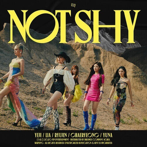 ITZY - Album 'Not Shy'