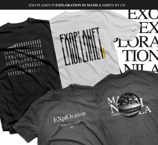EXO - EXPLORATION Tour T-Shirts by CD