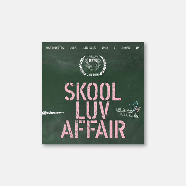 BTS - 2nd Mini Album 'Skool Luv Affair'