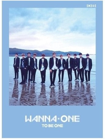 "WANNA ONE - 1ST MINI ALBUM ""TO BE ONE"" CD"