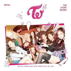 TWICE - 1st Mini Album 'The Story Begins'