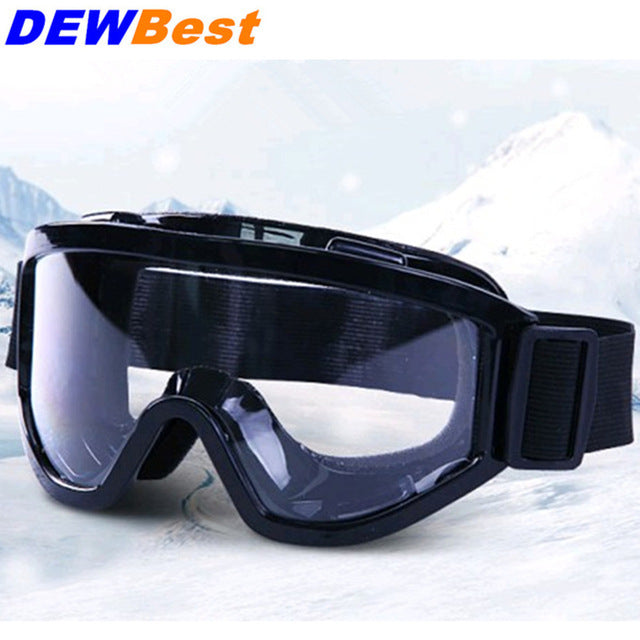 48746ff381a9 DEWBest HS699 black Safety Glasses Shock resistant Transparent Goggles Anti  Dust Glasses Anti-wind Anti