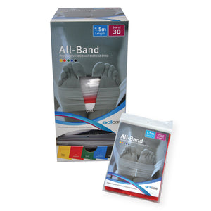 Allband Premium Exercise Band - Precut 1.5m Length
