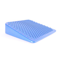 Blue 66fit Inflatable Wedge Cushion With Pump