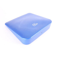 Blue 66fit Inflatable Wedge Cushion With Pump Top View
