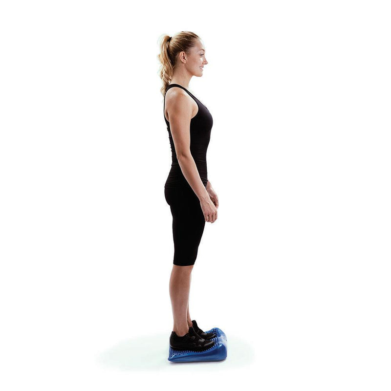 Woman Standing On 66fit Inflatable Wedge Cushion