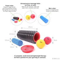66fit Trigger Point Massage Roller Kit Information