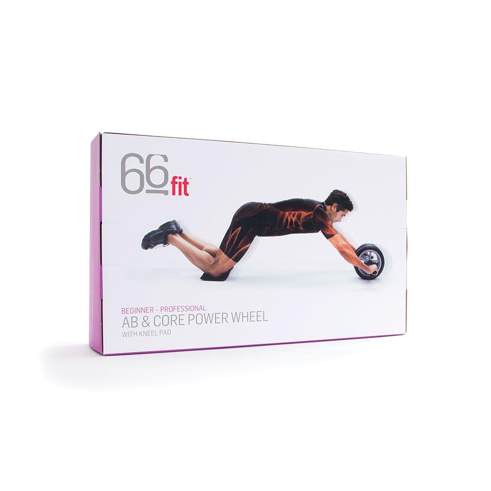 Packaging For 66fit Abs & Core Power Wheel With Knee Pad