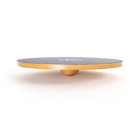 Side View Of 66fit Wooden Balance Board - PVC Surface - 40cm