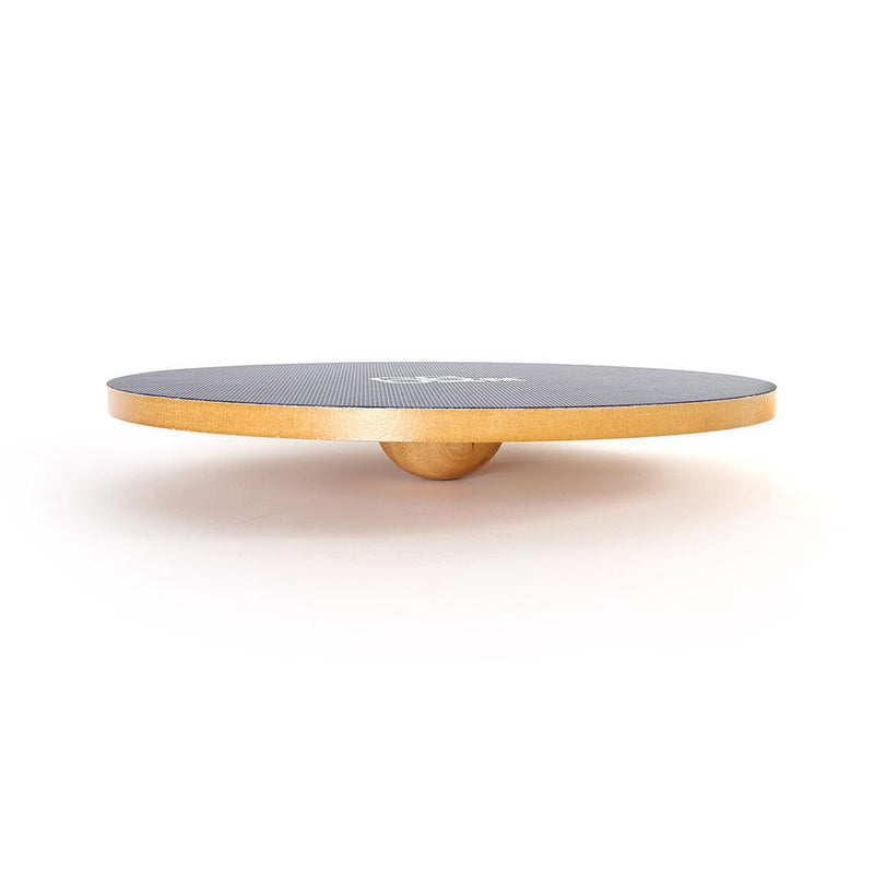 Side View Of 66fit Wooden Balance Board - PVC Surface - 50cm