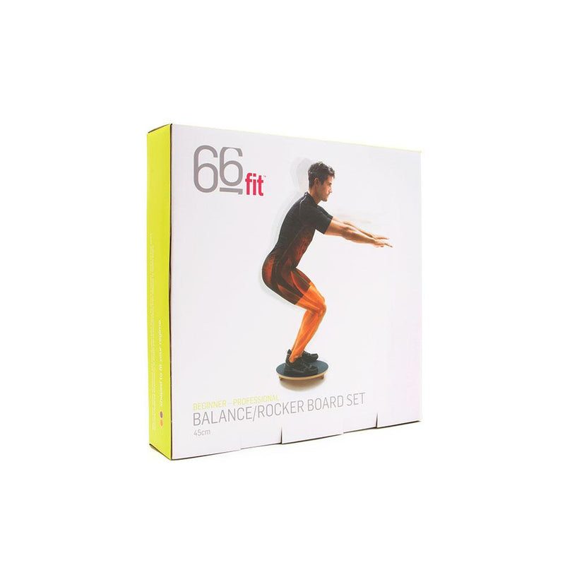 Packaging For The 66fit Balance/Rocker Board Set