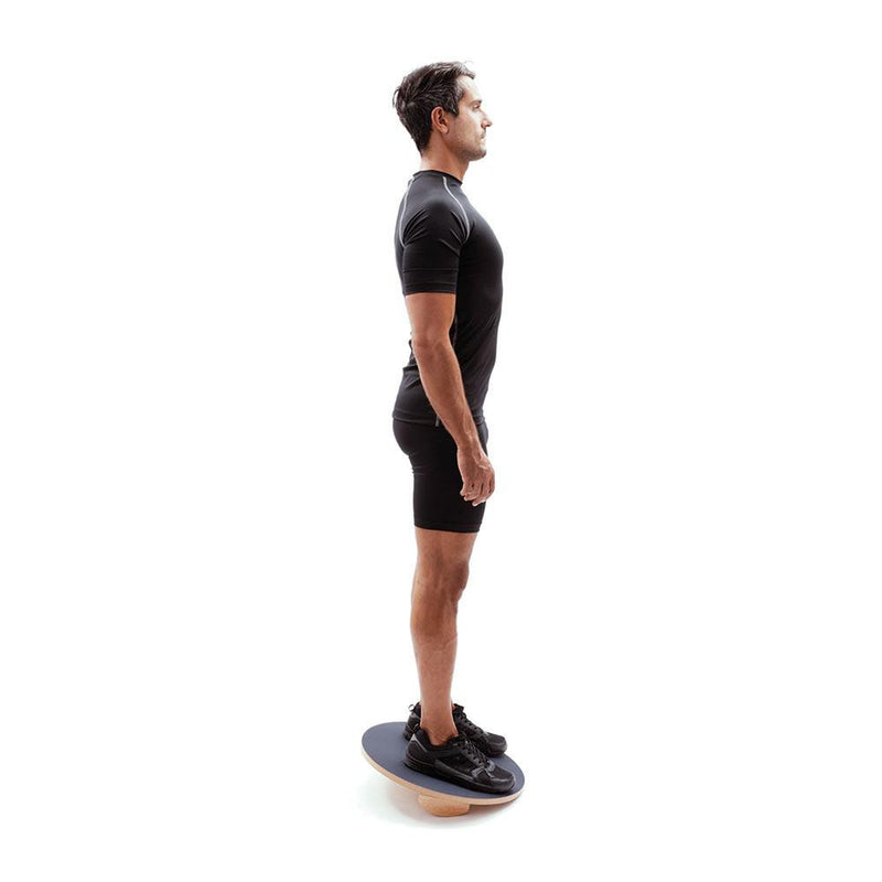 Man Using 66fit Balance/Rocker Board Set - 45cm 3