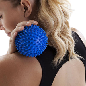 66fit 10cm Hard Spikey Massage Ball - 1pc