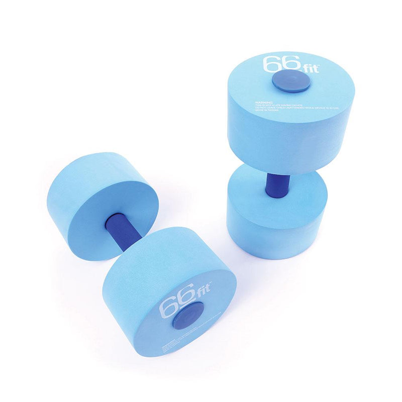 66fit Aqua Floatation Dumbbells x 2pcs