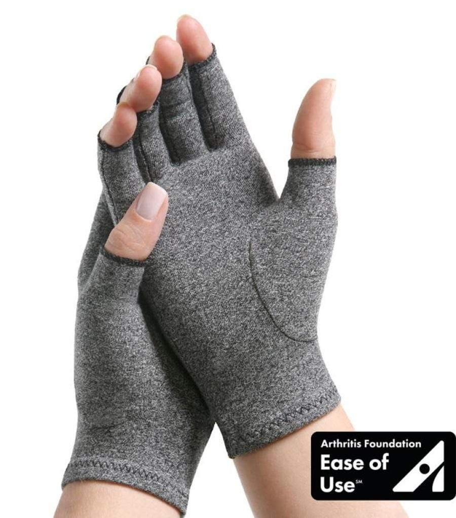 IMAK ARTHRITIS GLOVES TO HELP RELIEVE ACHES, PAINS AND STIFFNESS ASSOCIATED WITH ARTHRITIS