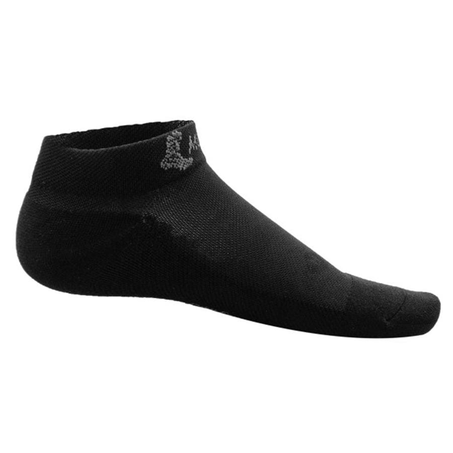 MUE4702 GRADUATED COMPRESSION ANKLE SOCKS BLACK PAIR FOR IMPROVED CIRCULATION AND COMPRESSION