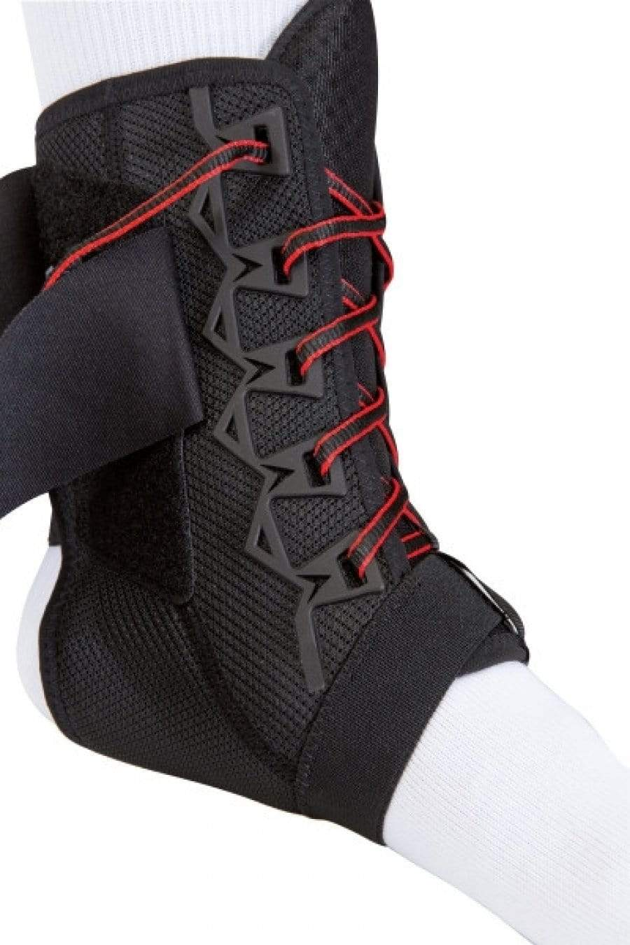 MUE488 THE ONE PREMIUM ANKLE BRACE LACE UP WITH FIGURE 8 STRAPPING