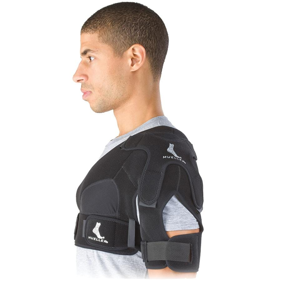 MUE6012 NEOPRENE SHOULDER SUPPORT WITH MULTI STRAP ADJUSTMENT SYSTEM FOT A CUSTOM FIT