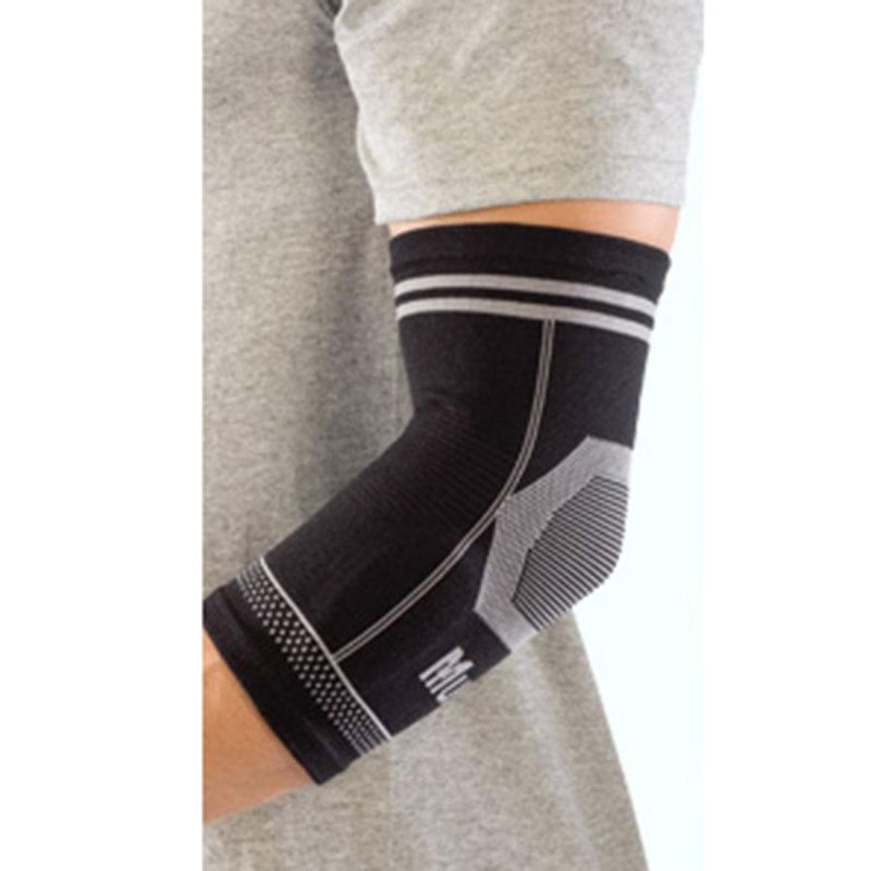 MUE633 4-WAY STRETCH ELBOW SUPPORT WITH TWO GEL PADS TO RELIEVE PAIN AND 360 DEGREE COMPRESSION