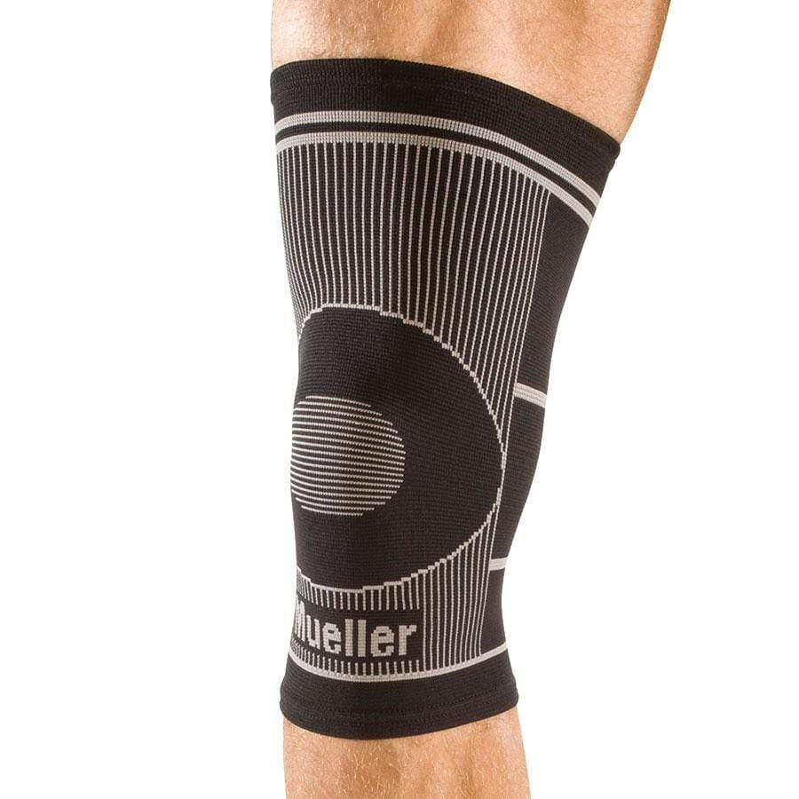 MUE641 4-WAY STRETCH KNEE SUPPORT WITH CIRCULAR WEAVING FOR TARGETED COMPRESSION