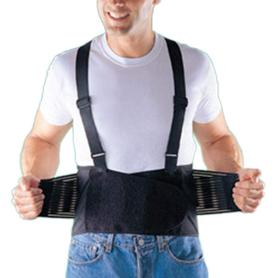 OPP2169 INDUSTRIAL BACK SUPPORT WITH SHOULDER STRAPS