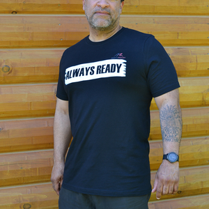 ALWAYS READY by NORTHREADY Unisex Shirt in Black