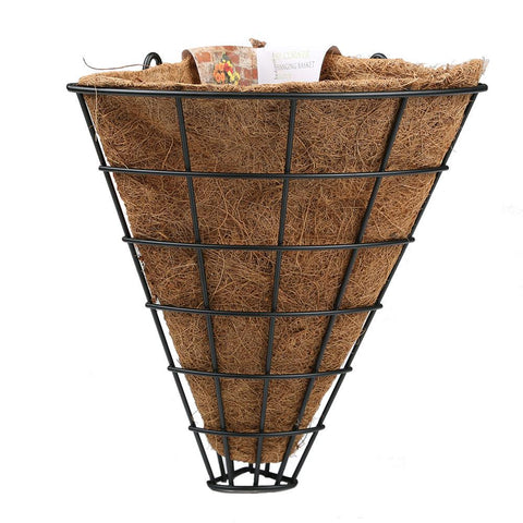 Botanico Garden Flower Planter Hanging Basket Flute - 90 Degree - 10