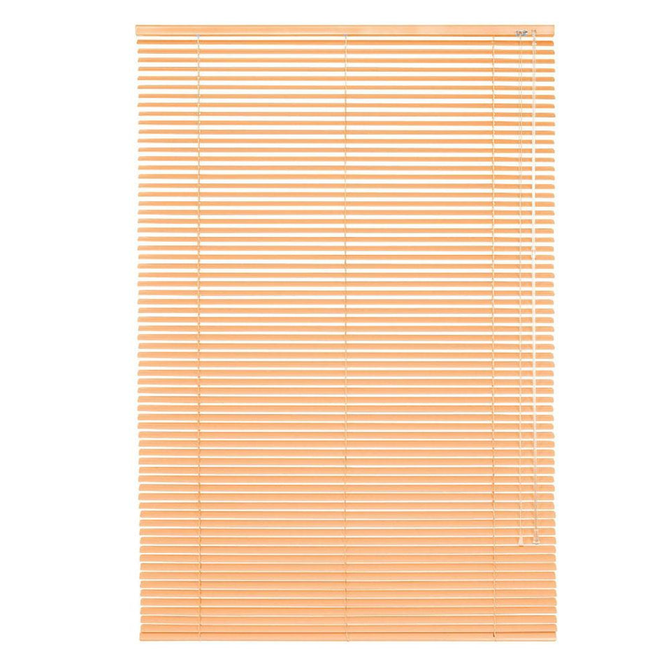 Window Blinds - Aluminium Venetian Apricot - 90cm x 240cm