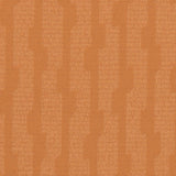 Monkwell Orange Patterned Wallpaper