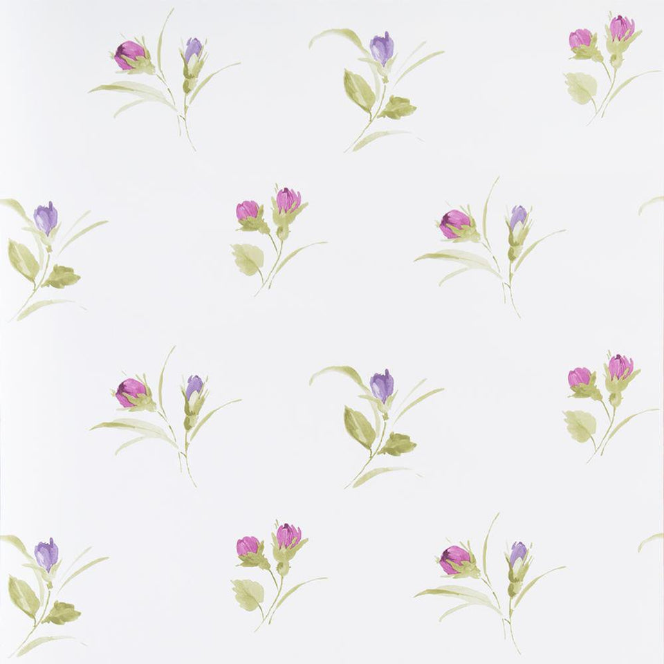 Wallpaper - Fresco Wallpaper Darling Buds Plum