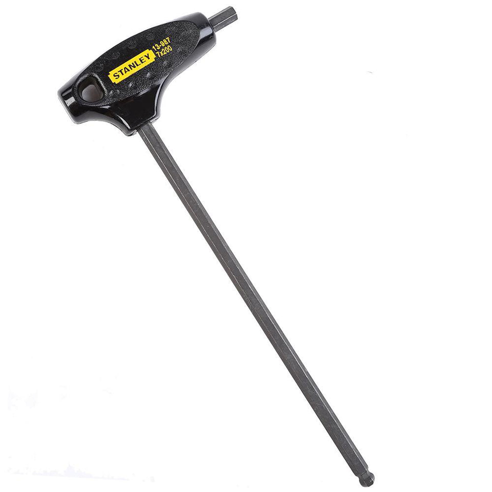 DIY & Tools Stanley Hex Allen Key T Handle Ball End 7mm