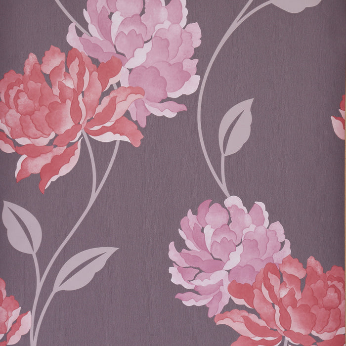 Wallpaper -  Dulux Peony Pink Wallpaper Wallpaper
