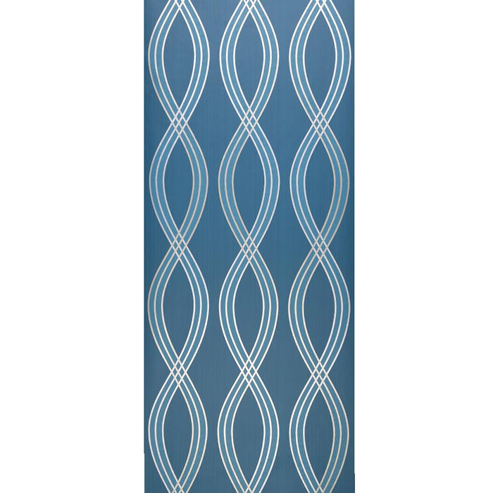 Dulux Feature Wallpaper Roll -Patterned Flat - Peacock Blue - 31-304 - SAMPLE