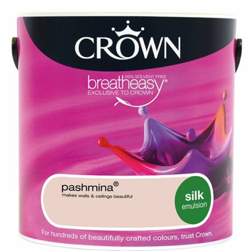 Paint - Crown Breatheasy Paint - Pink - 2.5L