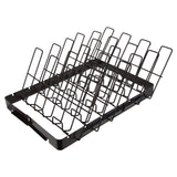 Kitchen - GrillMark Easy to use Cooking Rib Rack, Black