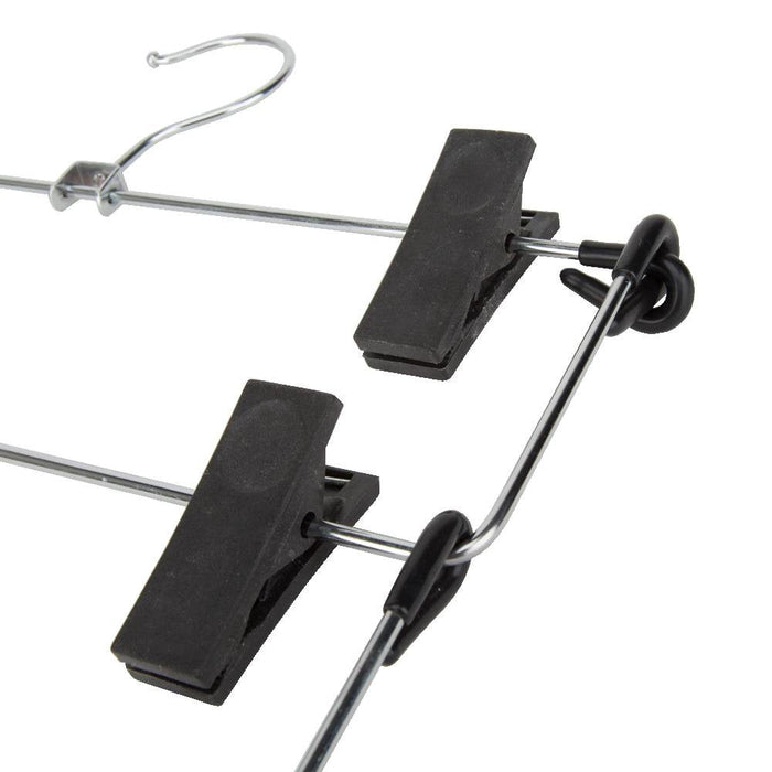 4 Tier ACE Skirt / Trouser Hanger With Swivel Hook