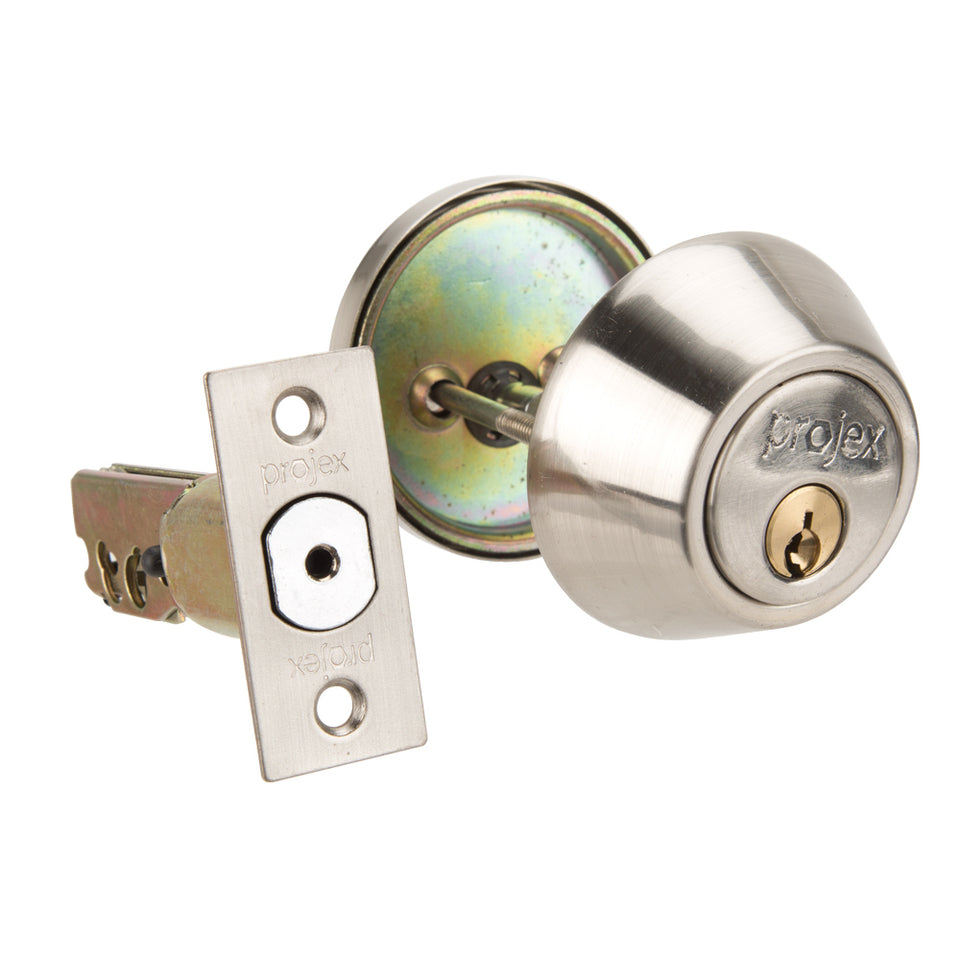 DIY & Tools - Lock And Key Single Cylinder Silver 32mm