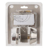 Projex Deadbolt Security Door Lock With Keys Single Cylinder - Silver Finish - 32mm - 51mm