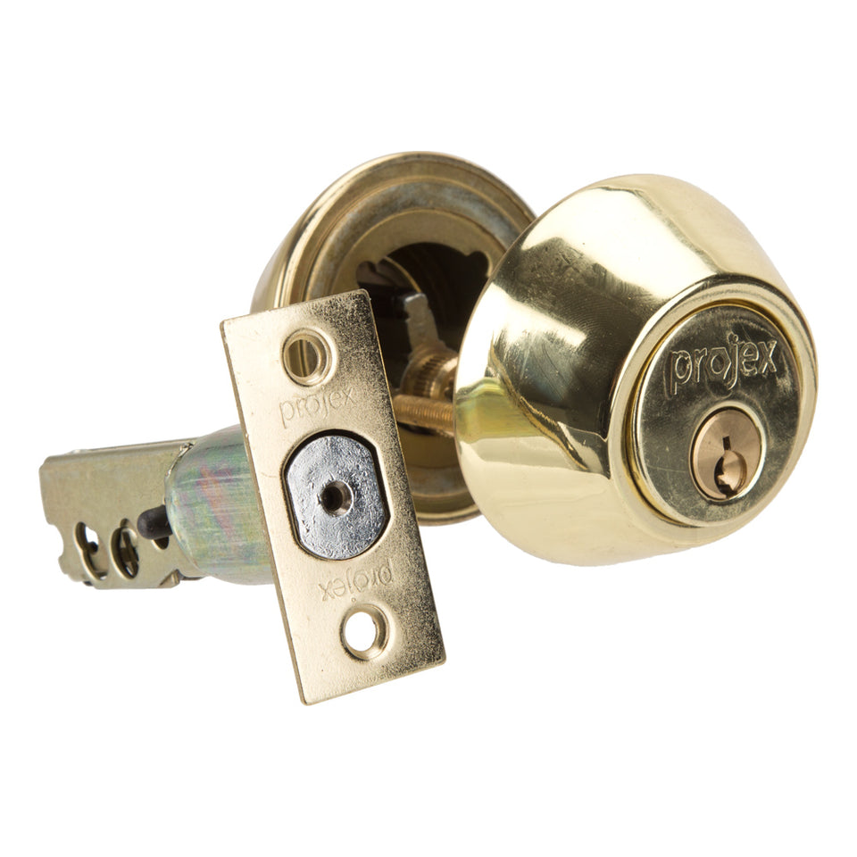 DIY & Tools - Lock And Key Double Cylinder Gold 36mm, 45mm