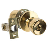 DIY / Tools - ACE Tulip Knob Home Security Set - Brass Finish - Interior Privacy Lock