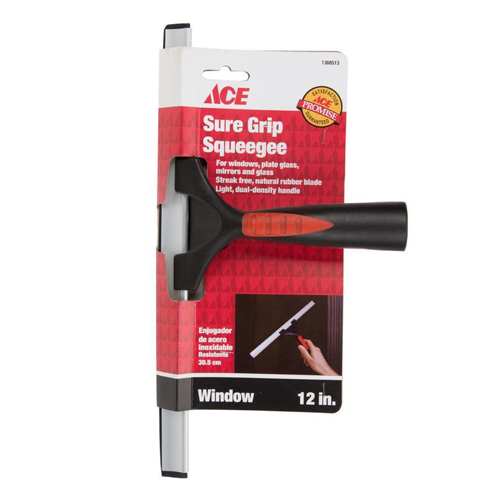 DIY & Tools - ACE Window Cleaning Squeegee - 12""