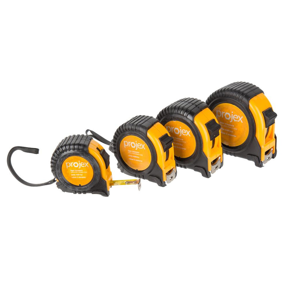 DIY & Tools - Projex Retractable Tape Measure Set Pack of 4