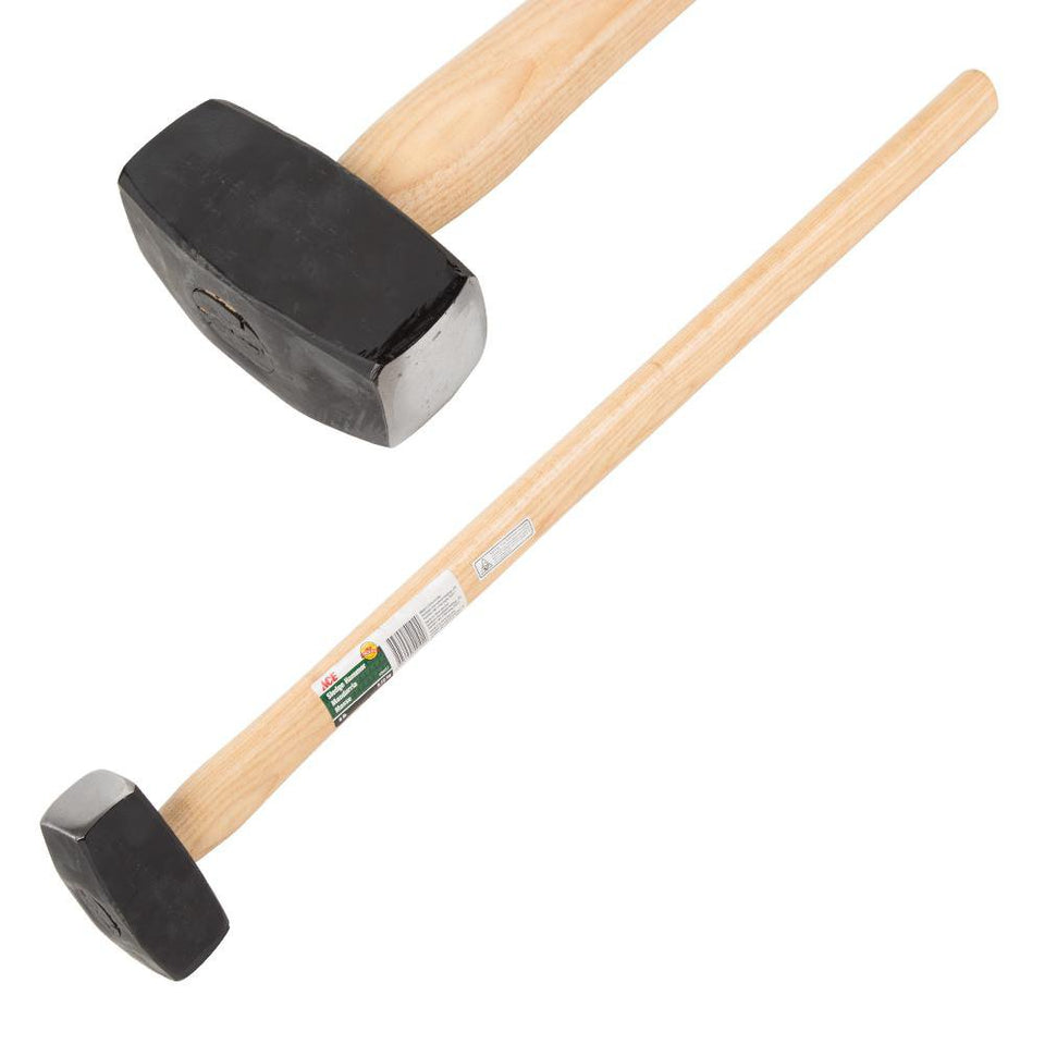 DIY & Tools - ACE Sledge Hammer Hickory Handle Steel Rubber Coated Head