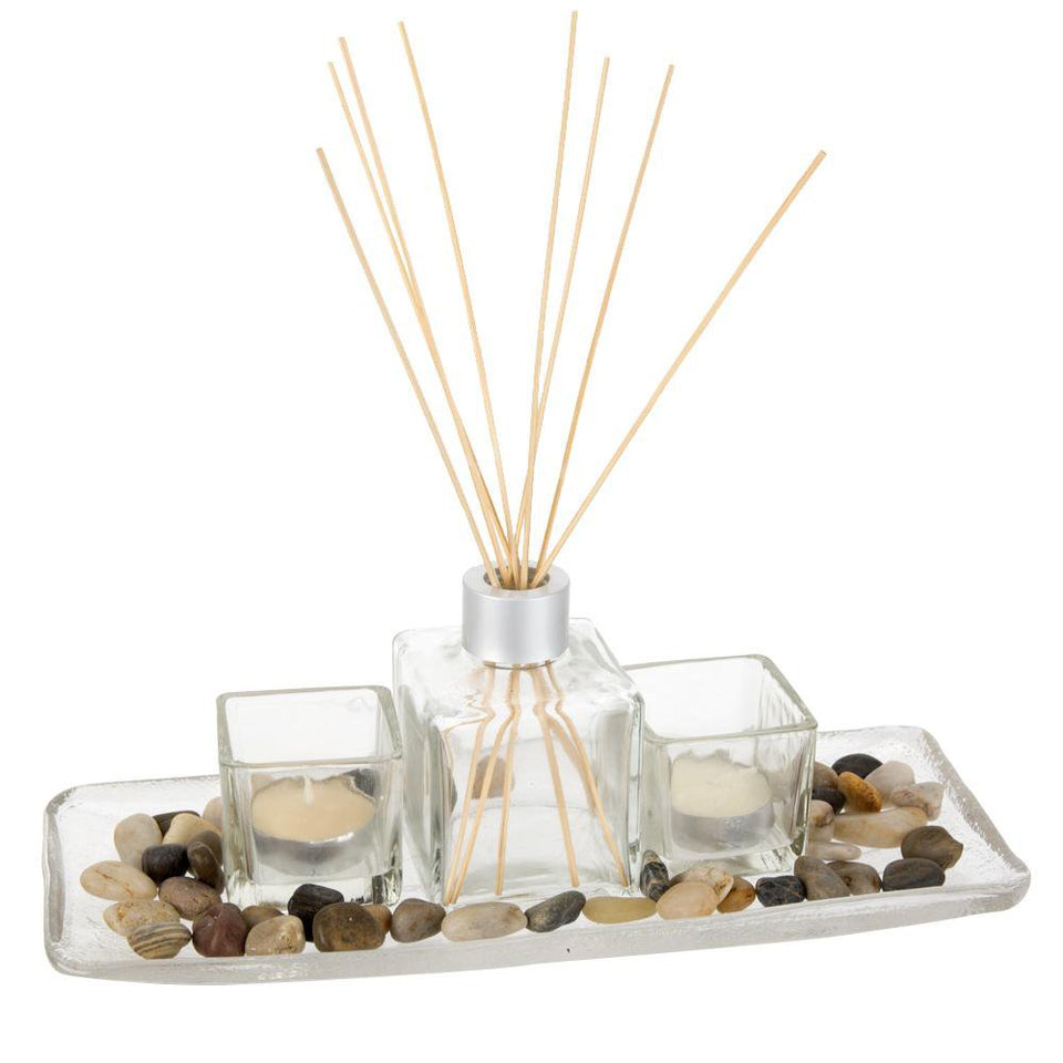 Home Decor - Fragrance Diffuser Set - Tranquillity Rose